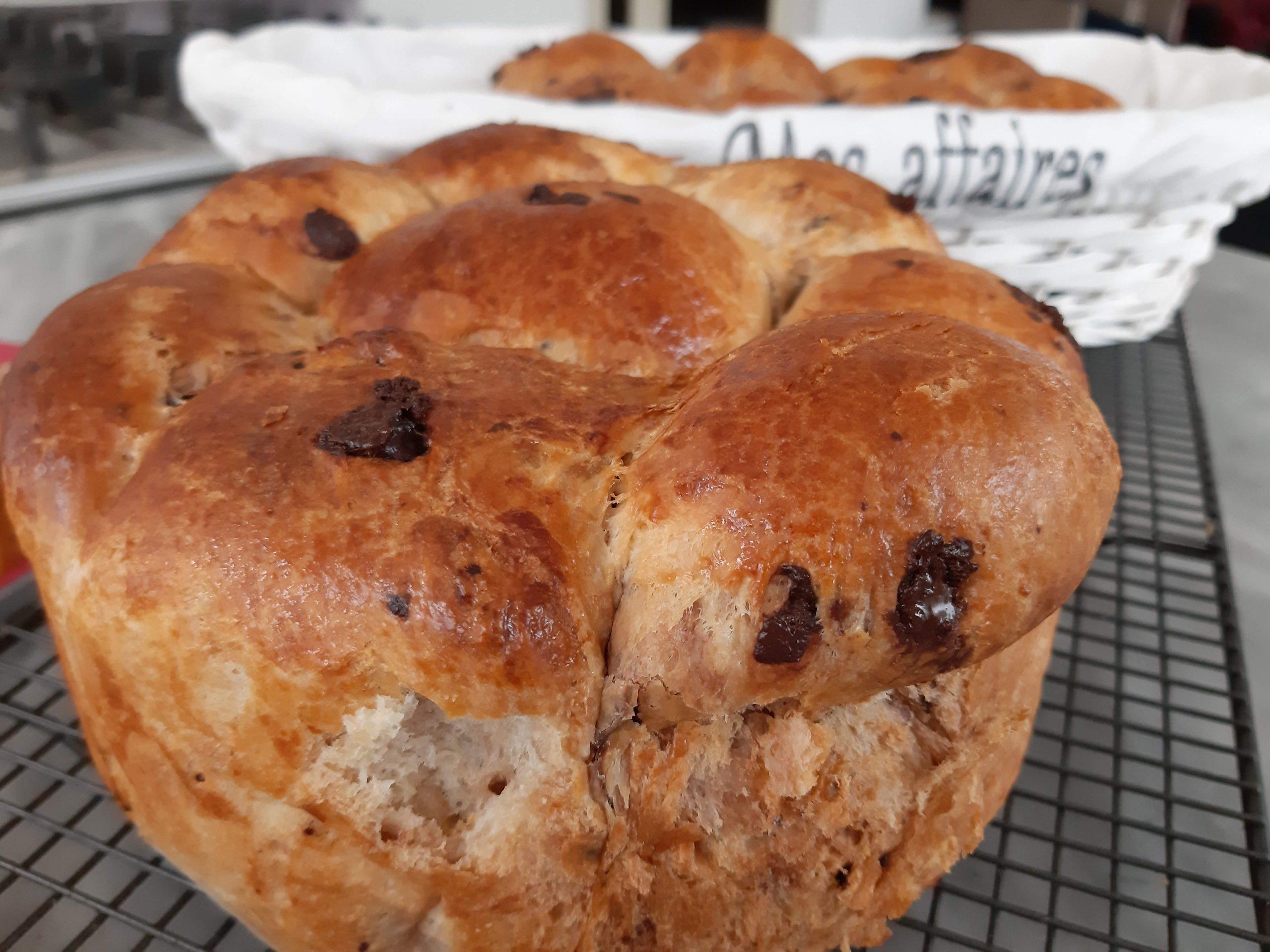 Chocolate Brioche loaf